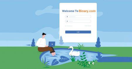Comment enregistrer et vérifier un compte sur Binary.com