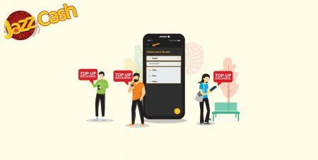 Deposit Funds in Binomo via Pakistan Bank Transfer (Easypaisa SMS, Jazz Cash SMS)