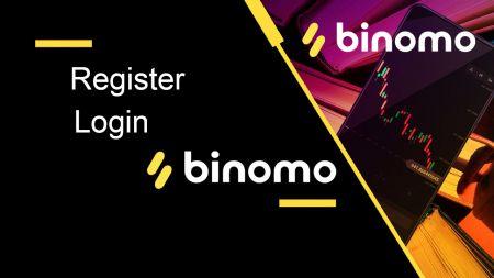 Comment s'inscrire et se connecter à un compte dans Binomo