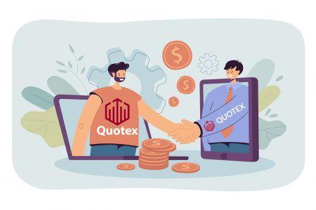 Comment rejoindre le programme d'affiliation et devenir partenaire de Quotex