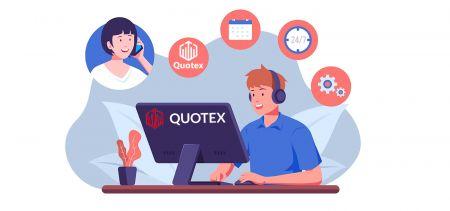 Comment contacter l'assistance Quotex