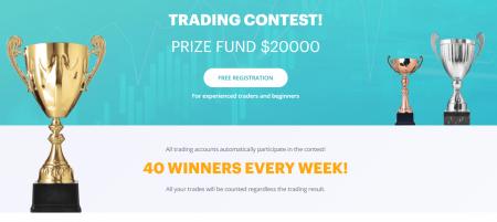 Concours de trading Raceoption - Fonds de prix de 20000 $