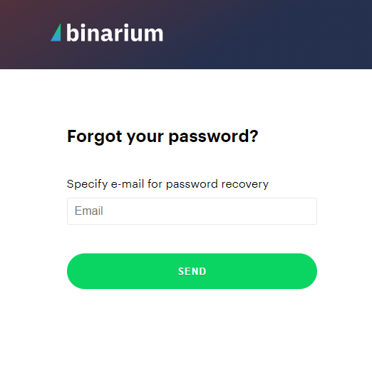 How to Sign in and Withdraw Money from Binarium