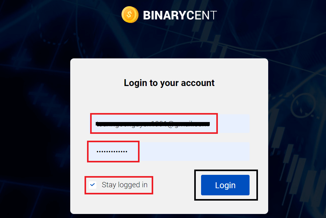 How to Sign Up and Deposit Money at Binarycent