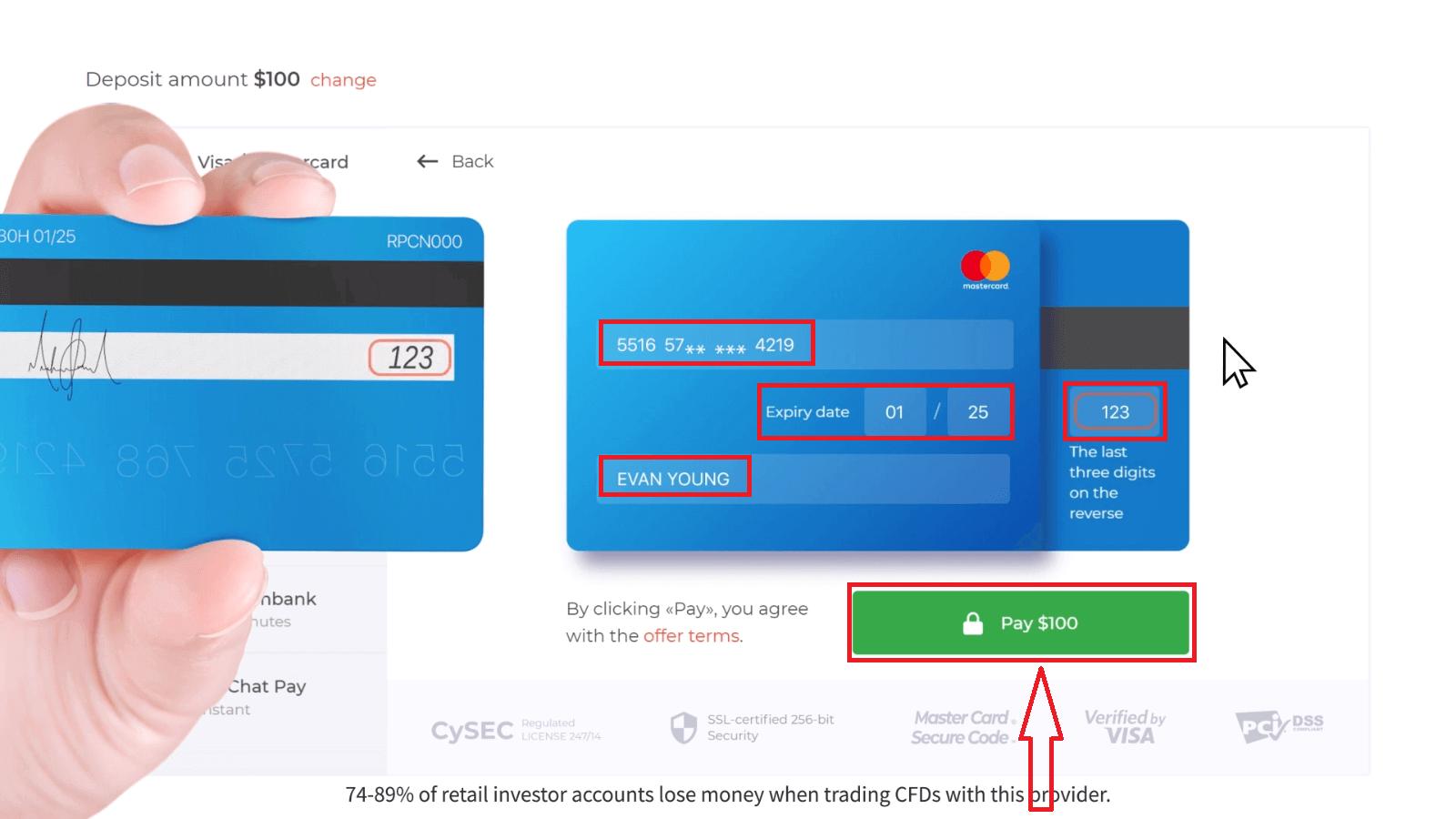 How to Deposit Money in IQ Option