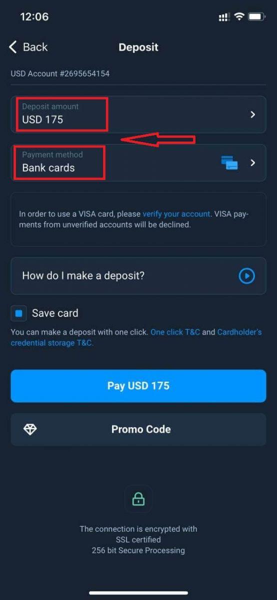 How to Deposit Money in Olymp Trade