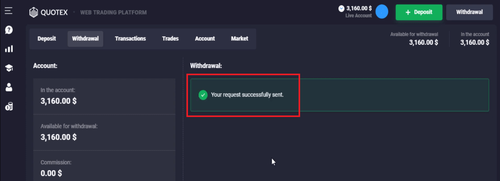 Frequently Asked Question (FAQ) of Trading in Quotex